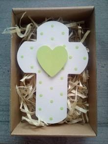 Dekorácie - Krížik v darčekovom balení - 12159216_