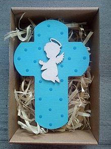 Dekorácie - Krížik v darčekovom balení - 12159228_