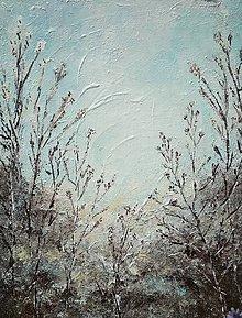 Obrazy - V modrom sne - 12159074_