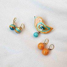 Sady šperkov - Tana šperky - keramika/zlato - 12160570_