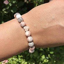 Náramky - Náramok na ruku z minerálnych kameňov - 12161137_