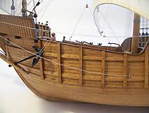 Dekorácie - Drevený model lode - 12159741_