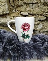 Nádoby - Hrnček ruža - 12160974_