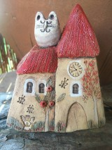 Socha - Kostol s pruhovanou mačkou - 12158303_