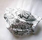 Rúška - Ochranné rúško na tvár s drôtikom - dvojvrstvové - skladom  - 12159542_
