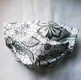 Rúška - Ochranné rúško na tvár s drôtikom - dvojvrstvové - skladom  - 12159544_