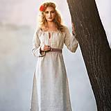 Šaty - Ľanové šaty Živa - 12162979_