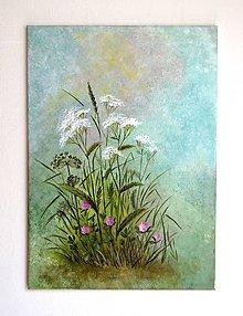 Obrazy - Maľovaný obraz-Letná nálada-70x50 cm - 12162639_