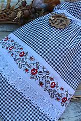 Bavlnené vrecko na pečivo-dvojvrstvové