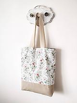 Nákupné tašky - Taška šípová ružička - 12162184_