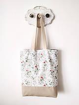 Nákupné tašky - Taška šípová ružička - 12162185_