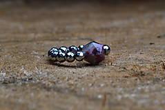 Prstene - Prsteň Turmalín na gumičke - 12162051_