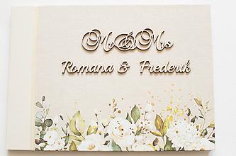 "Papiernictvo - Svadobný album ""Mr & Mrs"" - 12162778_"
