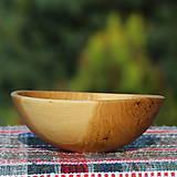 Nádoby - miska z dubového dreva - 12163801_