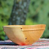 Nádoby - miska z dubového dreva - 12163839_