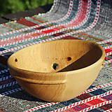 Nádoby - miska z dubového dreva - 12163840_