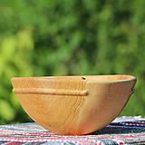 Nádoby - miska z dubového dreva - 12163841_