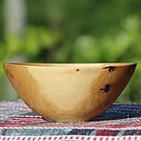Nádoby - miska z dubového dreva - 12163849_