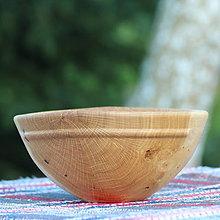 Nádoby - miska z dubového dreva - 12163836_