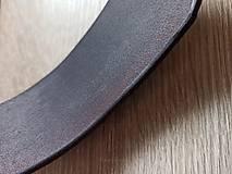 Materiál ručne robený - Kožené madlo na mieru (60x2cm) - 12162837_