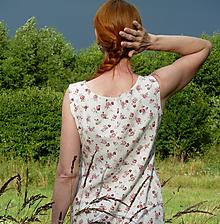 Šaty - Kvietkové letné šaty - 12165889_