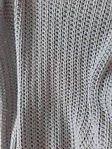 Úžitkový textil - Háčkovaná HYGGE DEKA svetlá béžová - 12164519_