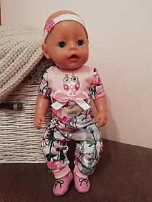 Hračky - Overal pre bábiku Baby born v 43 cm - 12169679_