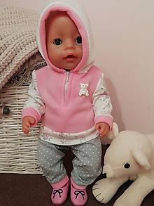 Hračky - Oblečenie pre bábiku Baby born v 43 cm - 12169698_