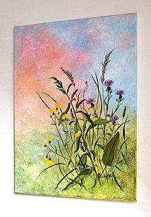 Obrazy - Maľovaný obraz-Horúce popoludnie-70x50 cm - 12168539_