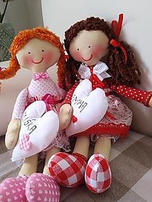 Hračky - Detská textilná bábika - 12168939_