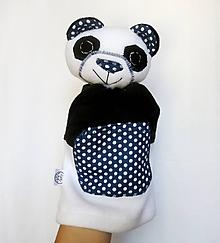 Hračky - Maňuška panda - Panda z Bodkova - 12167659_