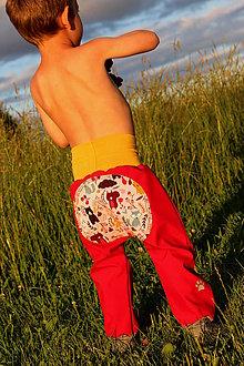 Detské oblečenie - letné softshelLOVE...na maliny! vel.104 - 12169682_
