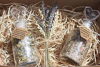 Drobnosti - Darčekové balenie bylinkových čajov do kúpeľa - 12168320_