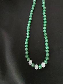 Náhrdelníky - náhrdelník z achátu a krištálu - 12169387_