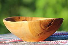Nádoby - Miska z čerešňového dreva - 12168936_