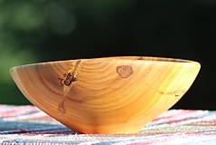 Nádoby - Miska z čerešňového dreva - 12168940_