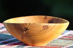 Nádoby - Miska z čerešňového dreva - 12168941_