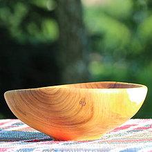 Nádoby - Miska z čerešňového dreva - 12168984_