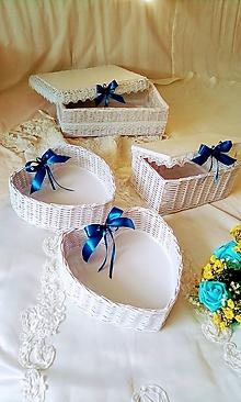 Košíky - Svadobný set KATARÍNKA - 12167812_