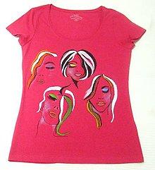Tričká - Červené tričko (40) - 12172075_
