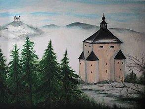 Obrazy - Banská Štiavnica, predaný - 12171914_