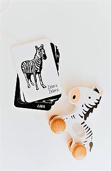 Detské doplnky - Kontrastné kartičky pre bábätká - 12171352_