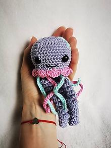 Hračky - Veselá medúzka Jelly - 12171294_