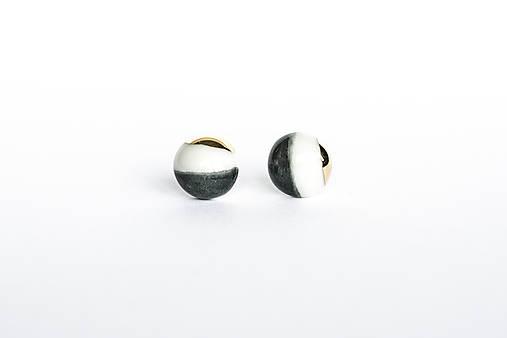 Náušnice - nežná geometria - 12170389_