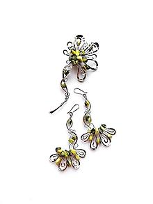 "Sady šperkov - Sada šperkov ""Expresivní okamžiky"" květový tyrkys - 12171980_"