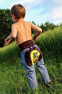 Detské oblečenie - softshelLOVE gate...srnček vel 92 - 12171232_