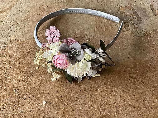 """Kvetinová čelenka """"láska, čo nezovšednie"""""""