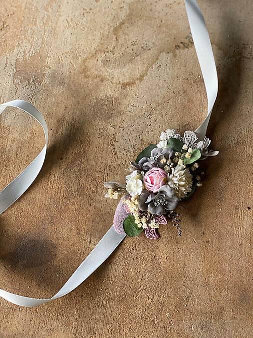 """Kvetinový opasok """"láska, čo nezovšednie"""""""