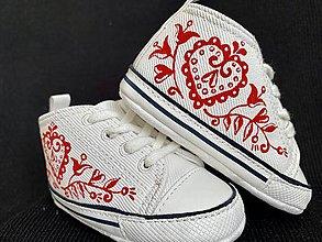 Topánočky - Maľované capačky - 12175908_