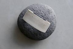 Náramky - Betónový náramok s kúskami medi - 12173139_